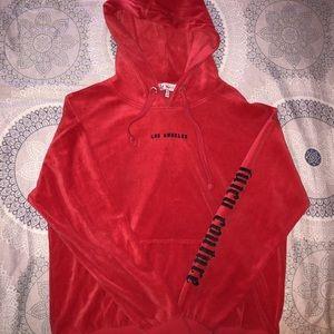 Juicy Couture hoodie.
